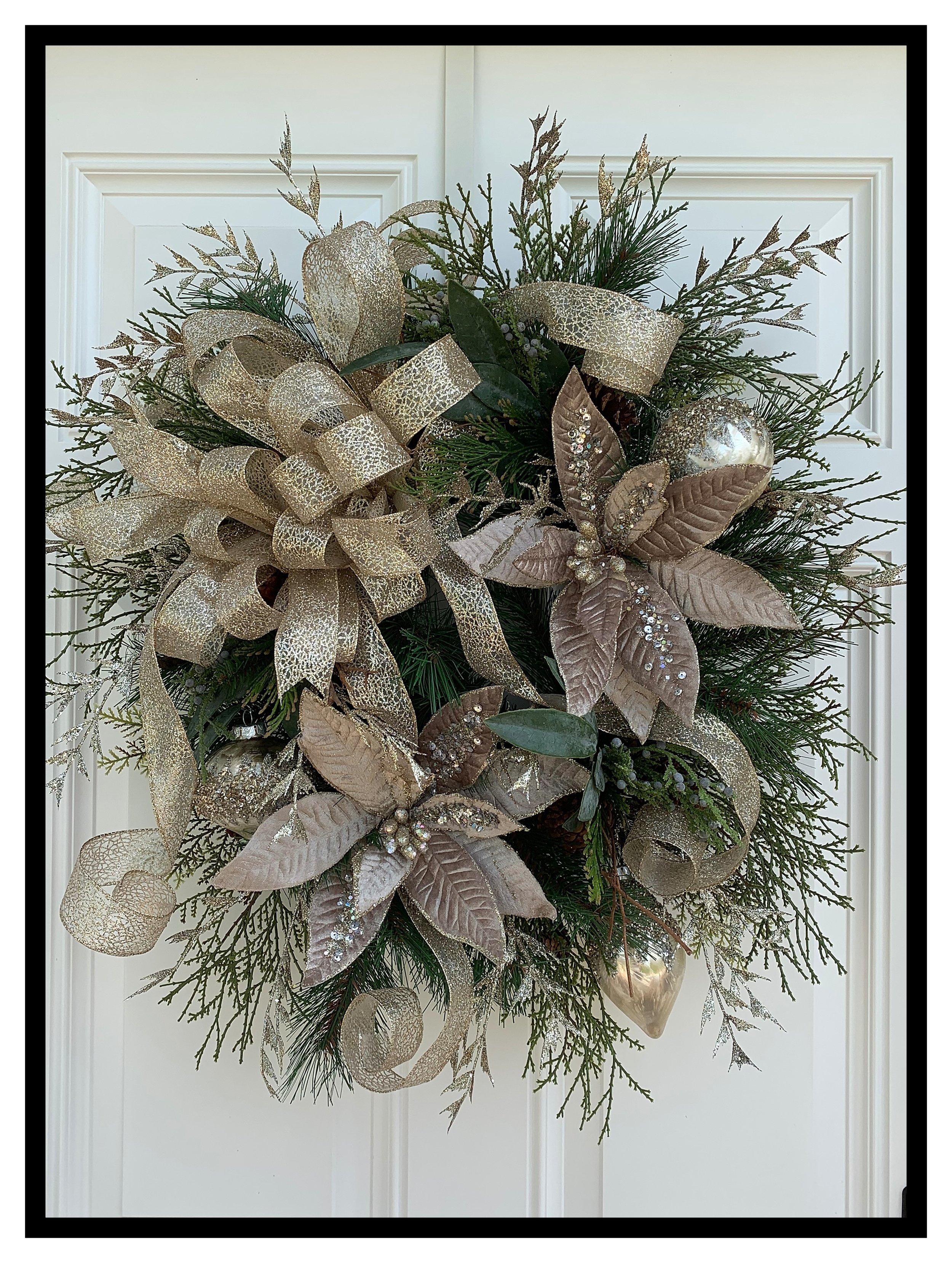 Designer Floral Door Wreaths Decorative Front Door Wreaths Home Decor Wreaths Sugar Creek Home Decor