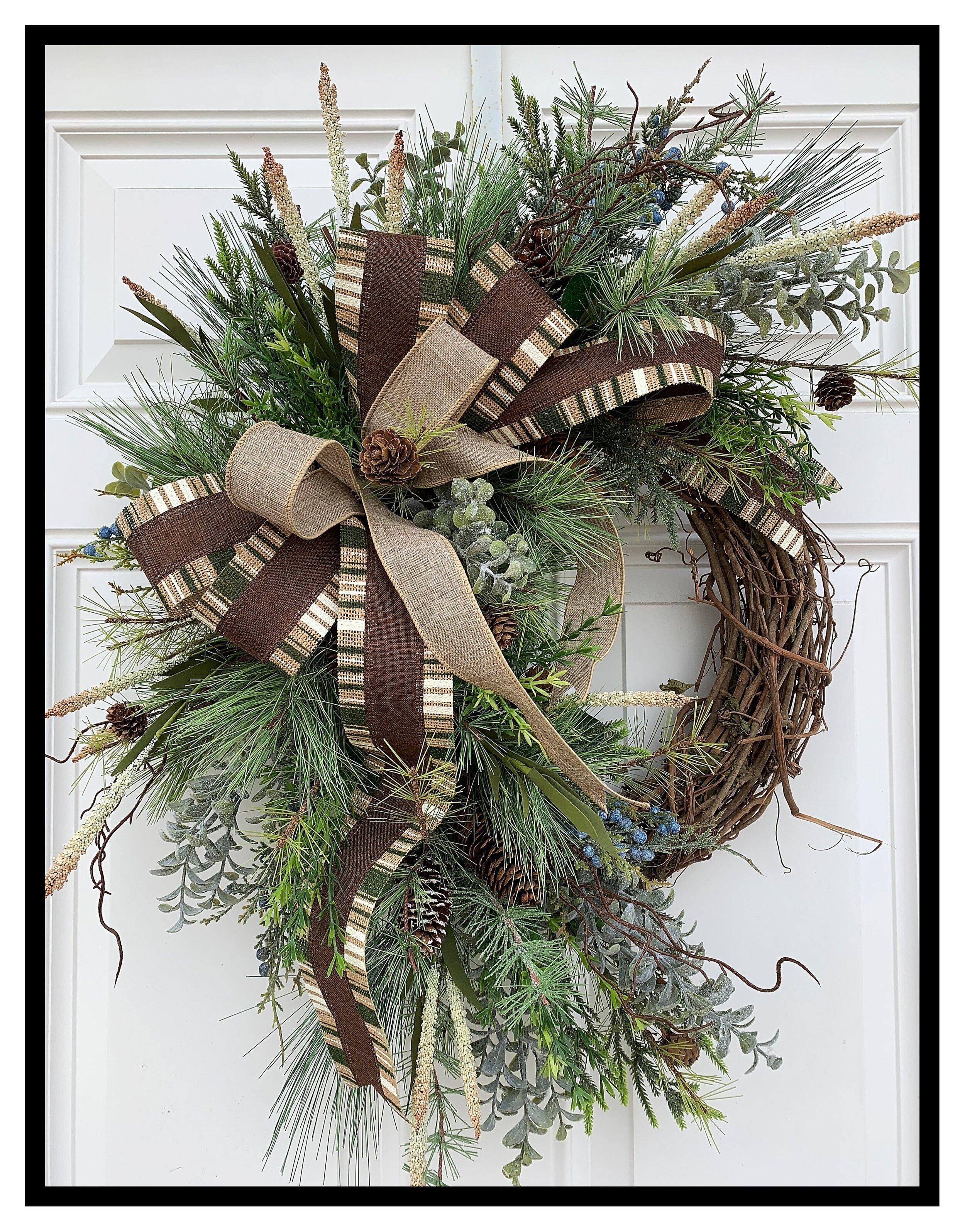Door Wreaths Designer Wreaths Decorative Front Door Wreath Sugar Creek Home Decor