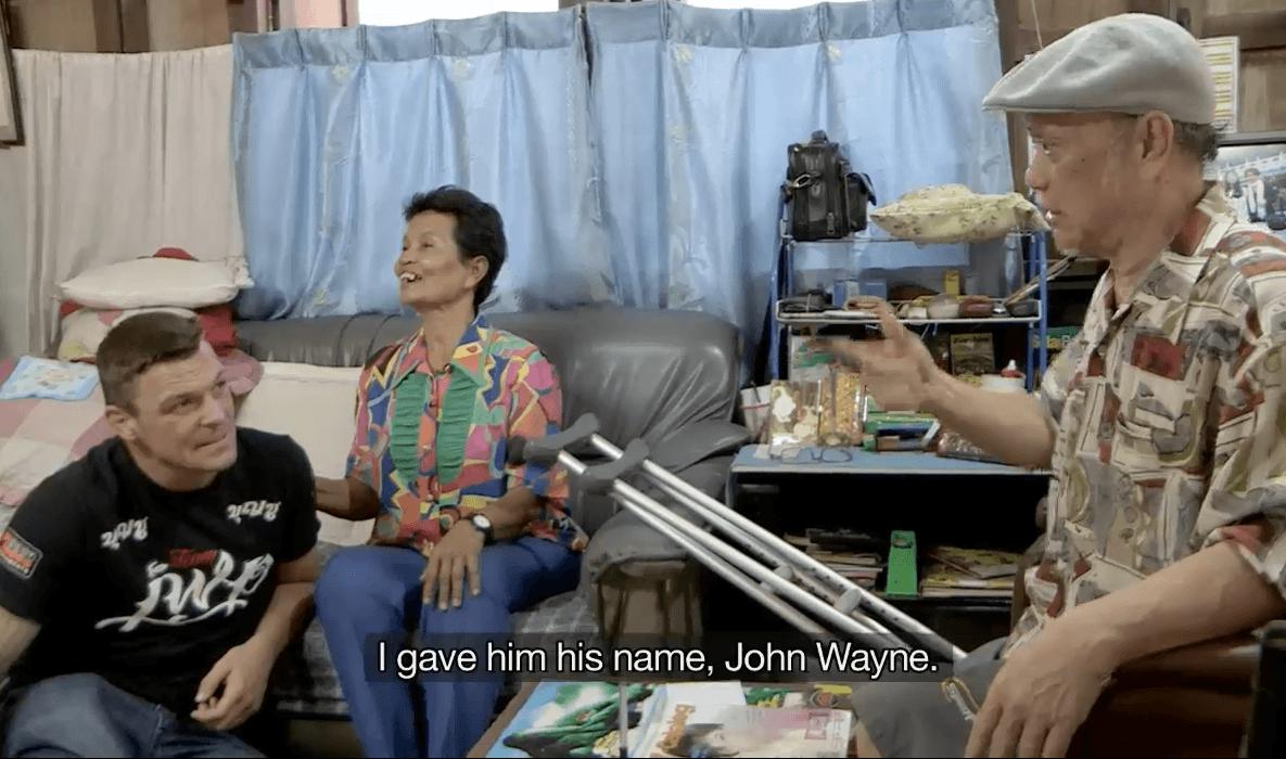Mornut Borbud, John Wayne Parr's first Muay Thai coach in Thailand