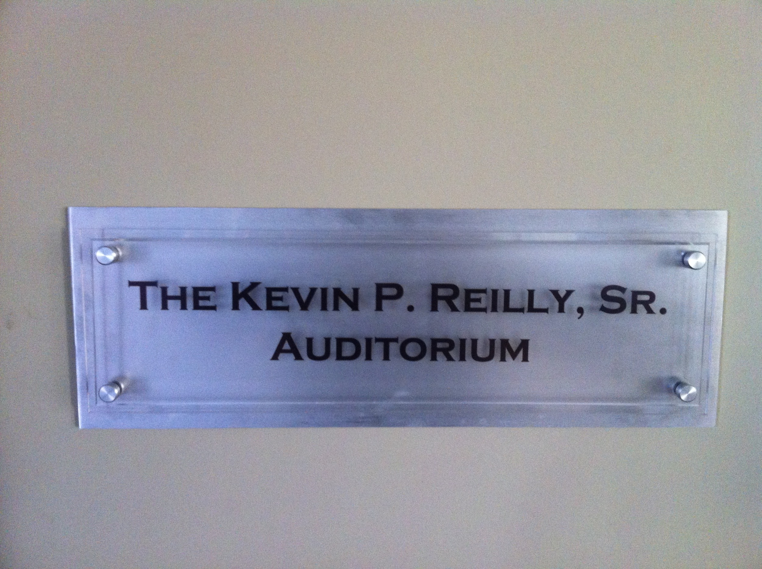 Donor Room Sign