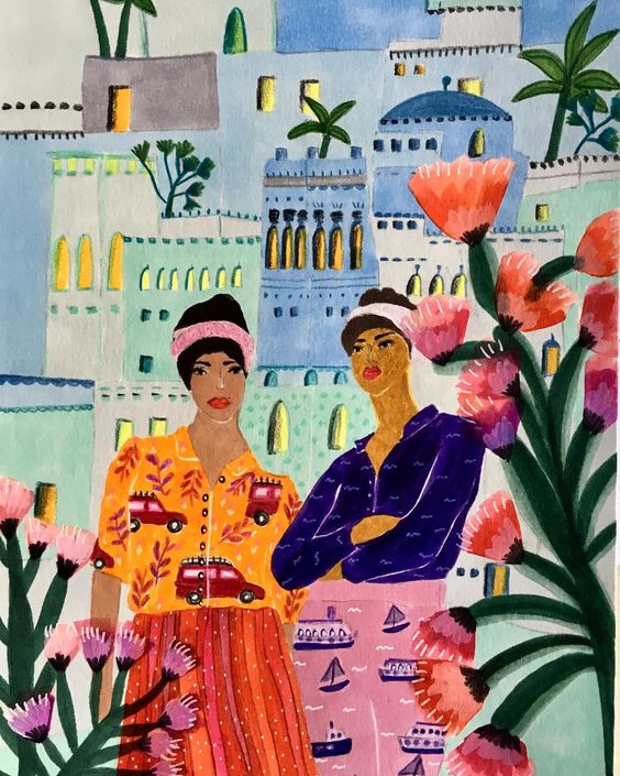 illustration by Roeqiya Fris