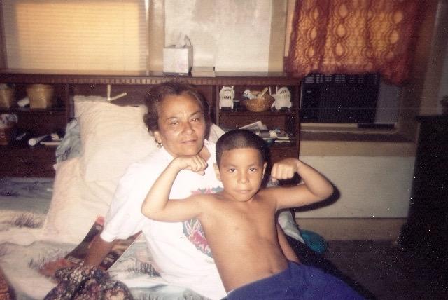 [L-R] Grandma & Andrew