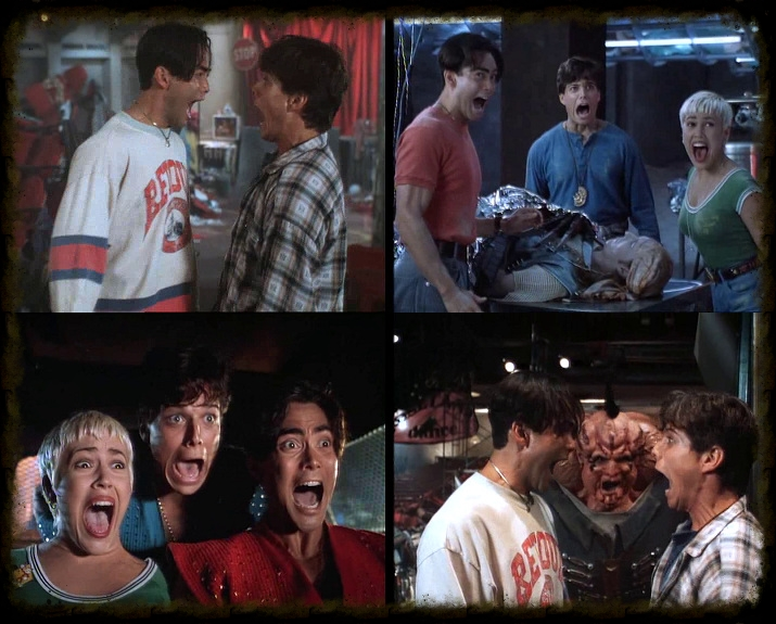 Some shots from  Double Dragon.   It was a running gag ok?! :-)