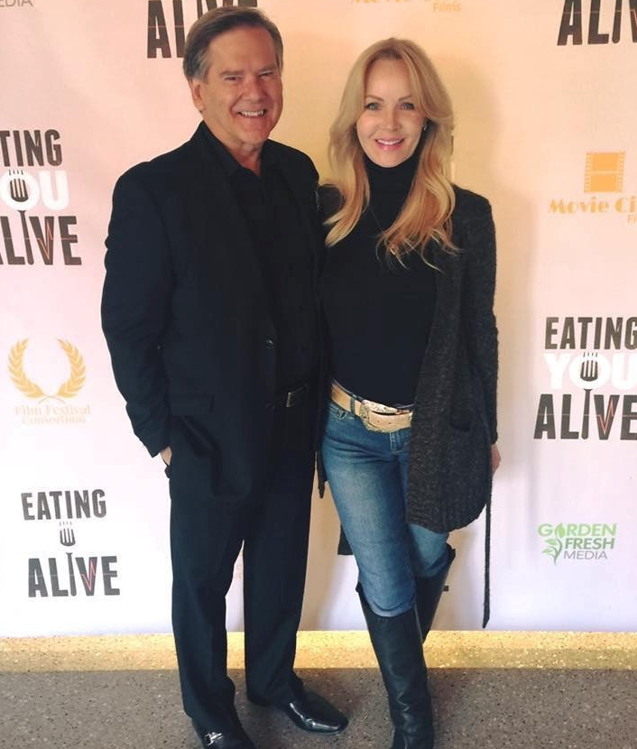 "Kelly Frey and Patti Titus at the Premiere of ""Eating You Alive"" at the Franklin Theatre.."