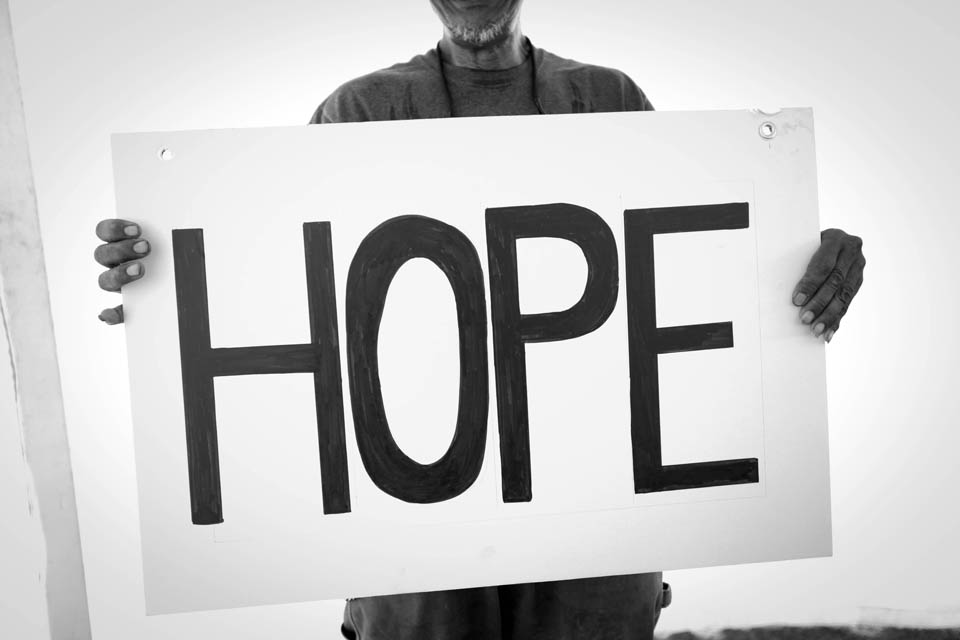 convoy of hope - hope sign