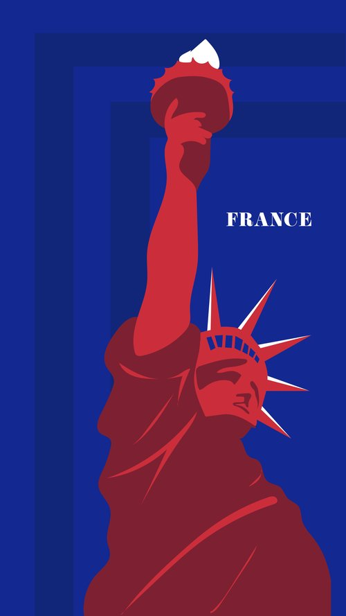 """""""France gifted the Statue of Liberty to the United States in 1886. The sculpture has inspired millions of immigrants ever since, as it was the first thing they saw as they approached Ellis Island.""""  Reference:  D1A32"""