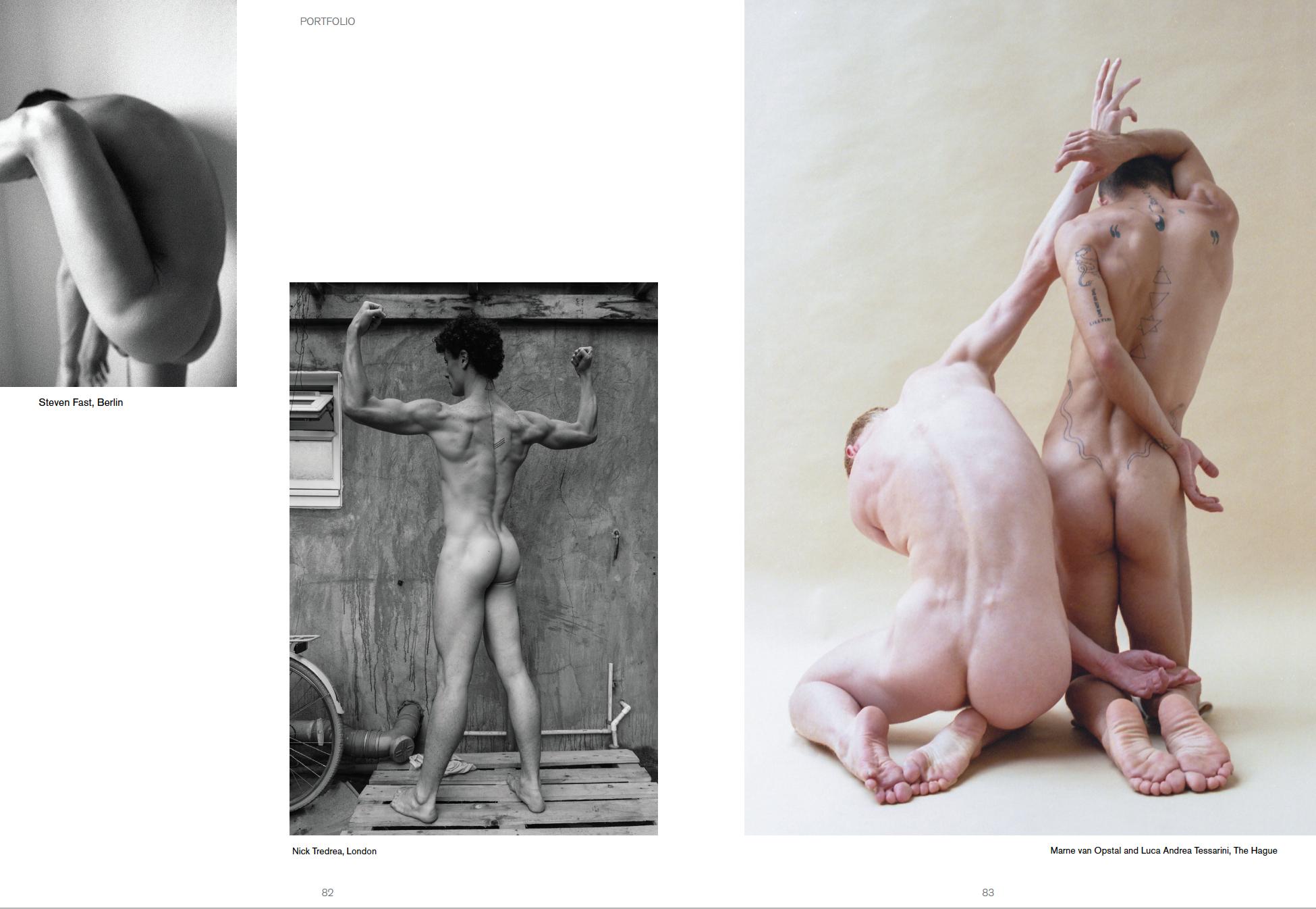 Nicholas Tredrea / Nick Tredrea with Gerardo Vizmanos for GAYLETTER NYC 'Issue 8'