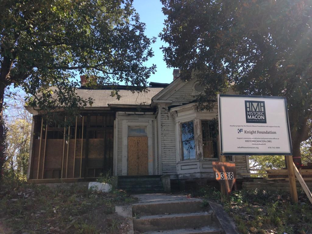 The future 2016 Design House at 1388 Calhoun Street