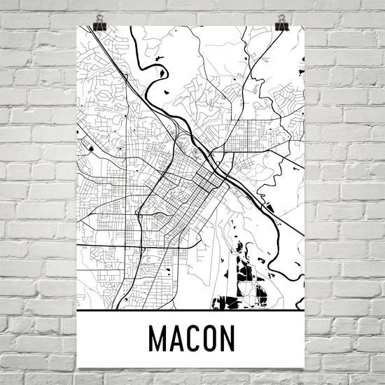 Map B&W