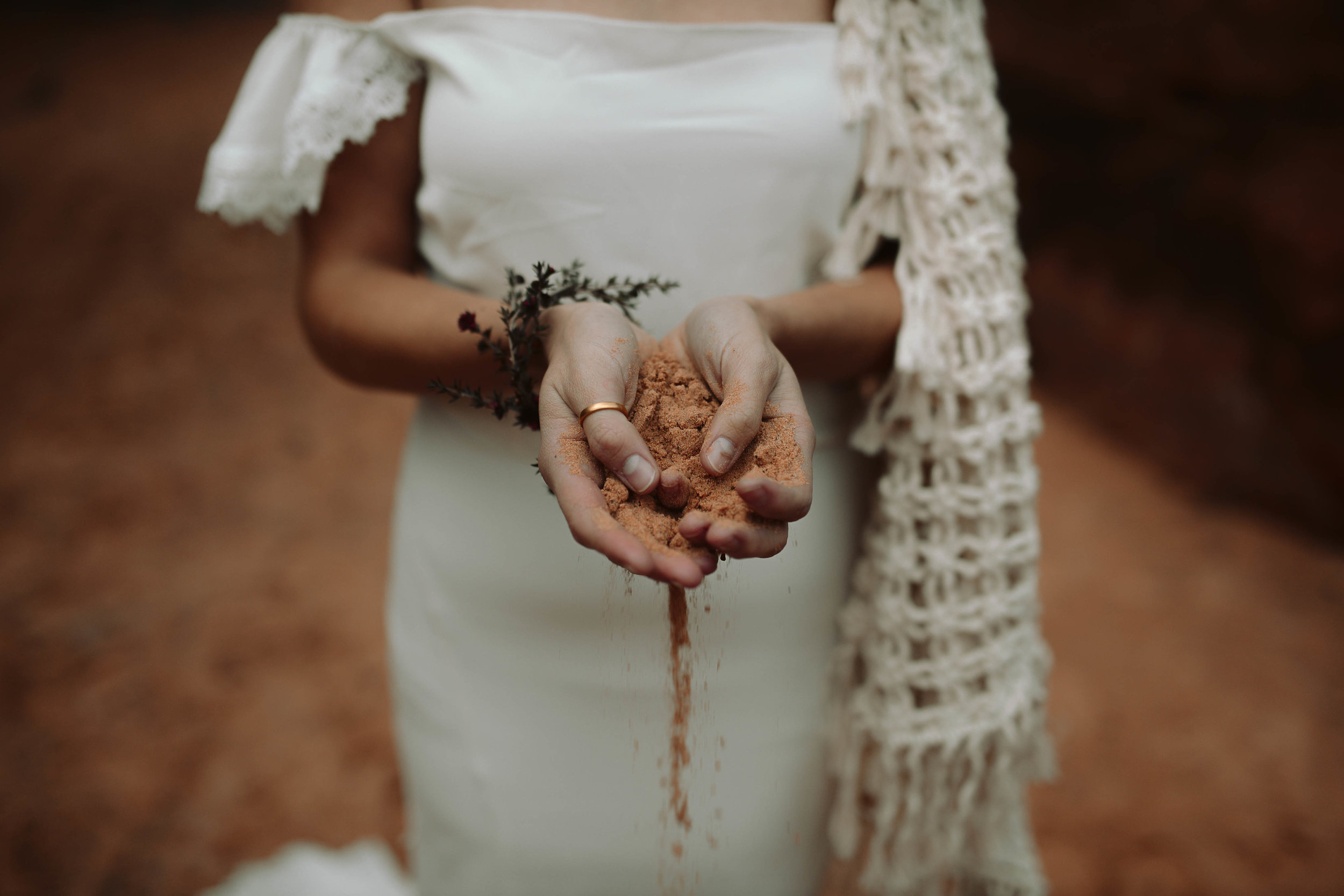 Photo by  Haley Nord  with a touch of floral by Beehive Floral co.