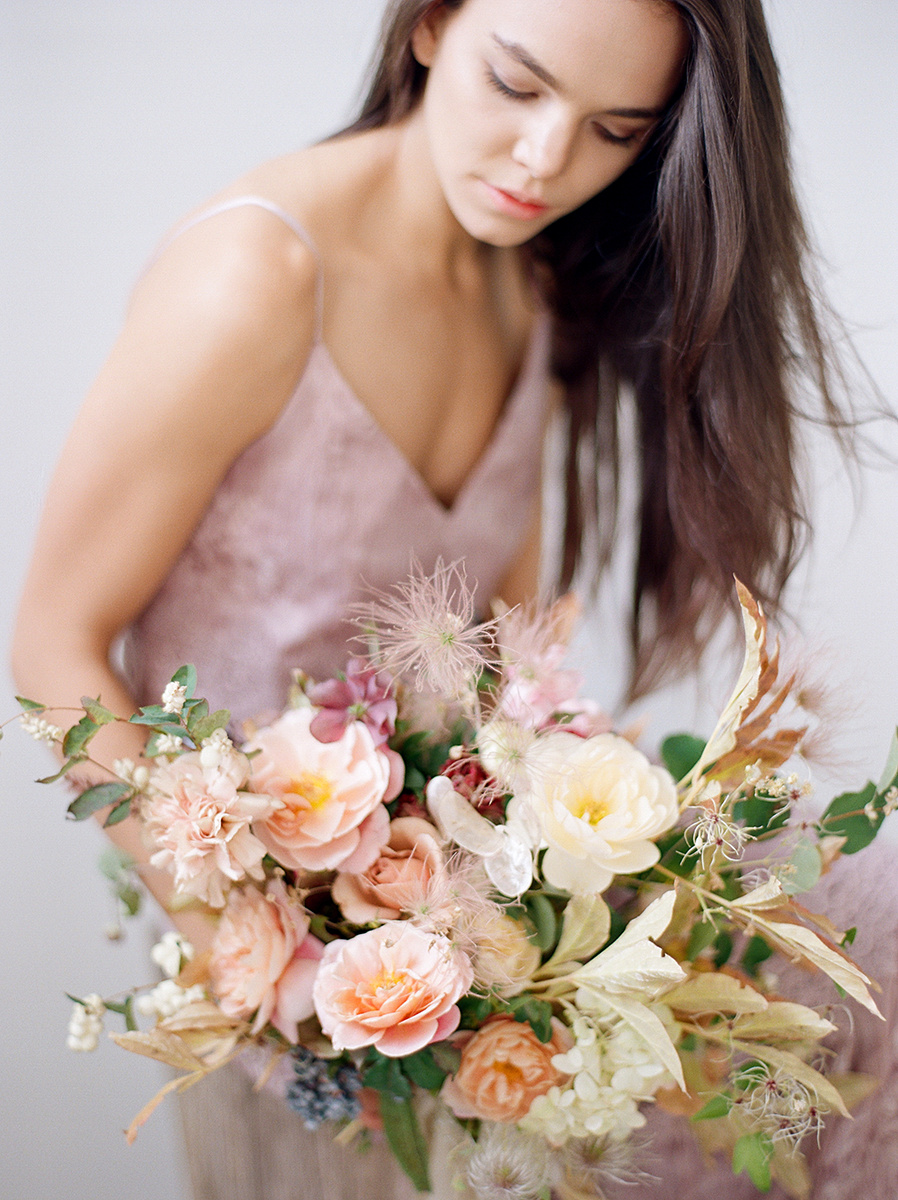 Photo by Heather Nan. Floral by Beehive Floral Co.