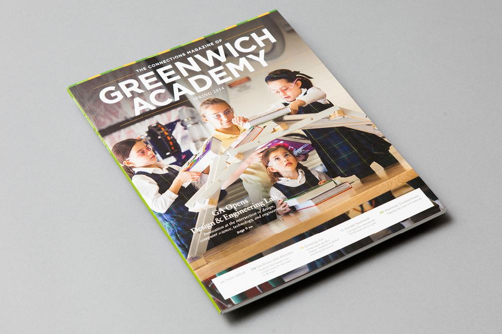 Greenwich Academy magazine