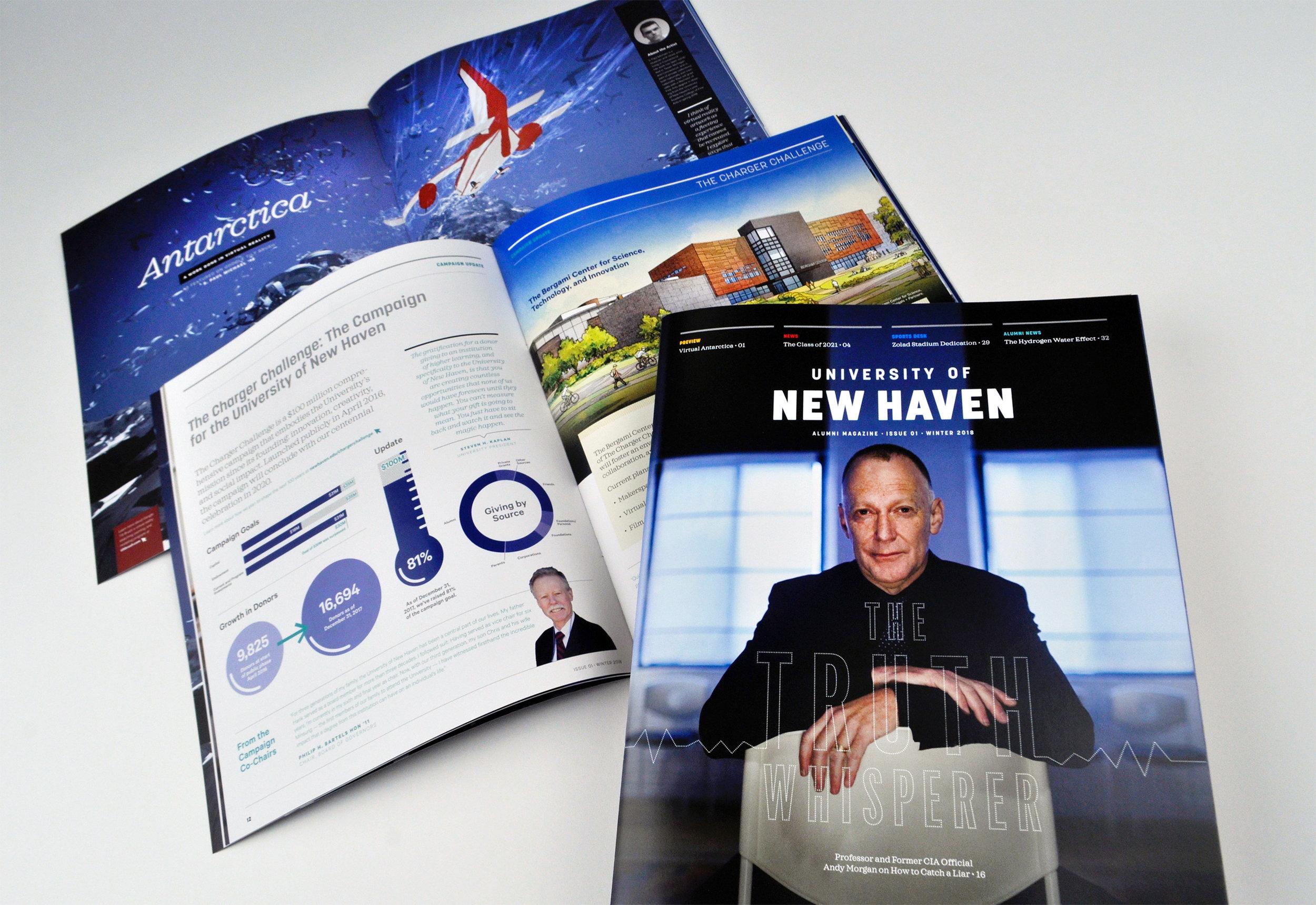 University of New Haven alumni magazine
