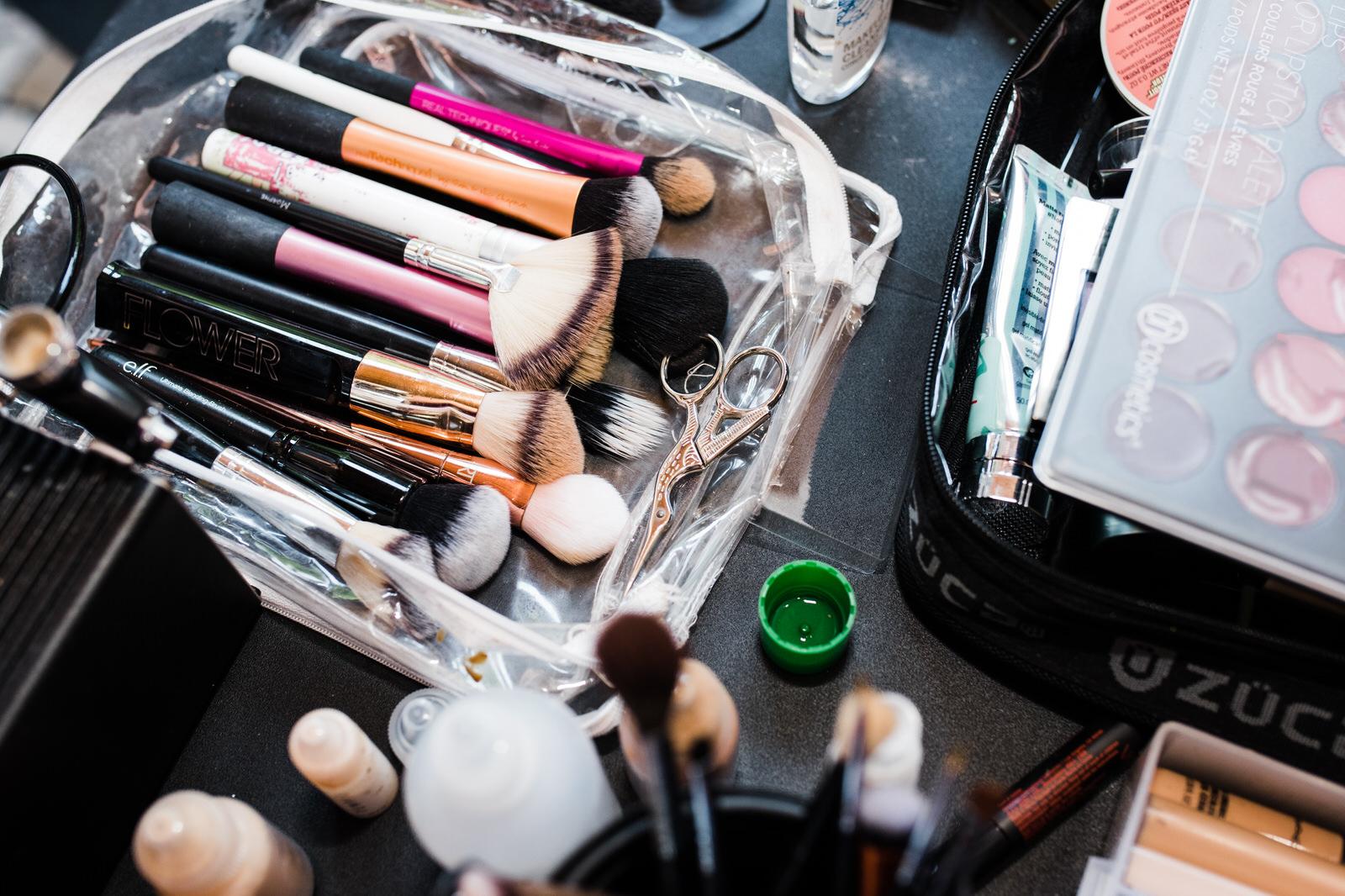 brides makeup