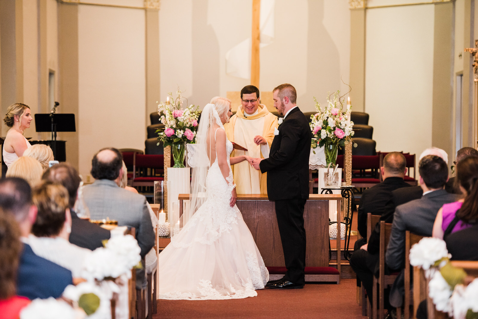 groom gives ring