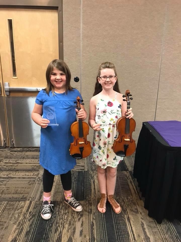 Multi-talented: Congratulations to Anneleise and Jenah on their fabulous musical talents!