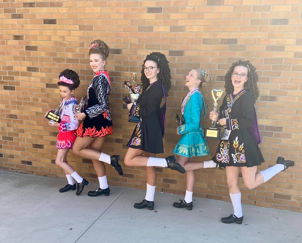 Showing off our trophies.jpg