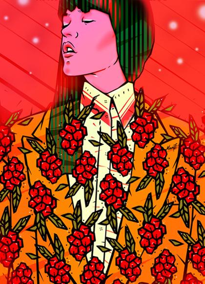 Lena Matveichuk,  Flower Space