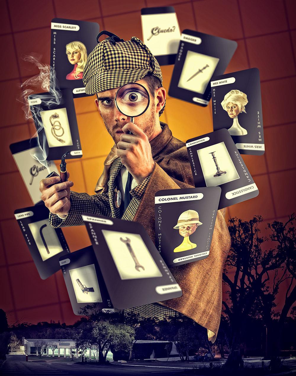 Adrian Fretwell,  'Cluedo' Murder Mystery Events