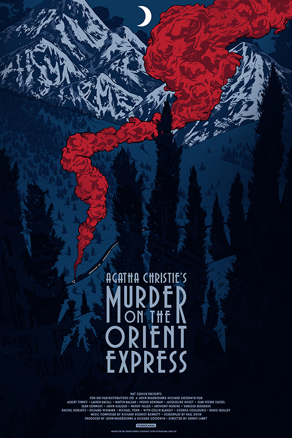 Johnny Dombrowski,  'Murder On The Orient Express' Anniversary Cover