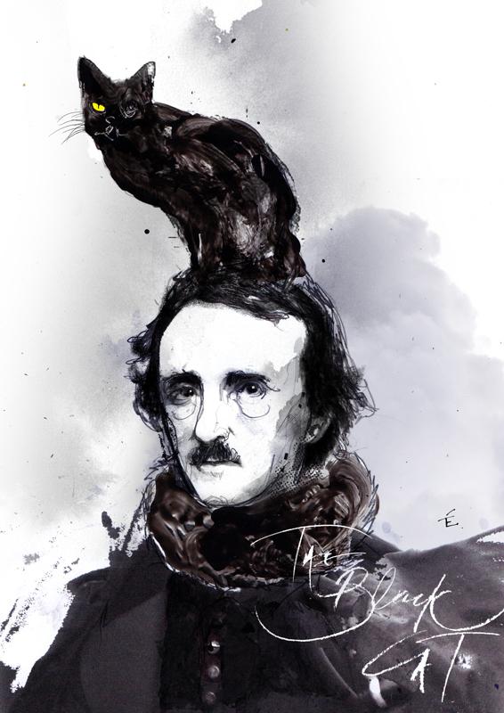Zé Otavio,  Edgar Allen Poe, The Black Cat