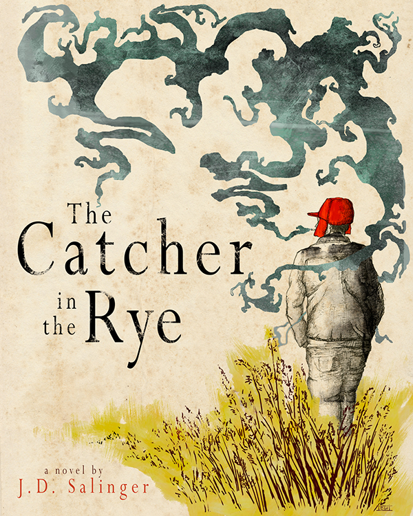Derik Hobbs,  'Catcher in the Rye' Book Cover Redesign
