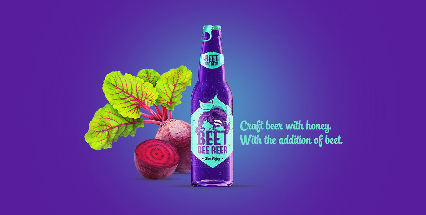 Thiago Rodrigues dos Santos,  Bee Beer Illustration and Packaging