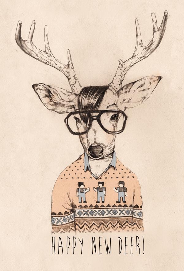 Anita Goldstein,  Hipster Opposite Day