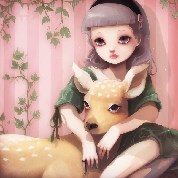 Ludovic Jacqz, My Dear Lady Deer