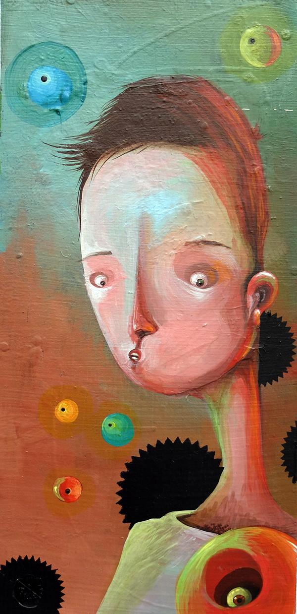 Philip Bosmans, Paintings2013-2014,Small Work