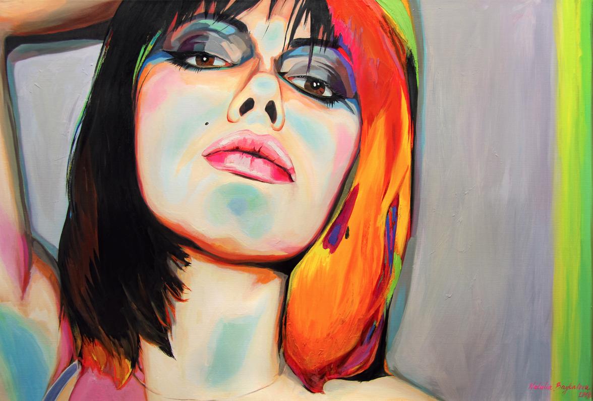 Natalia Baykalova,  Pop Art