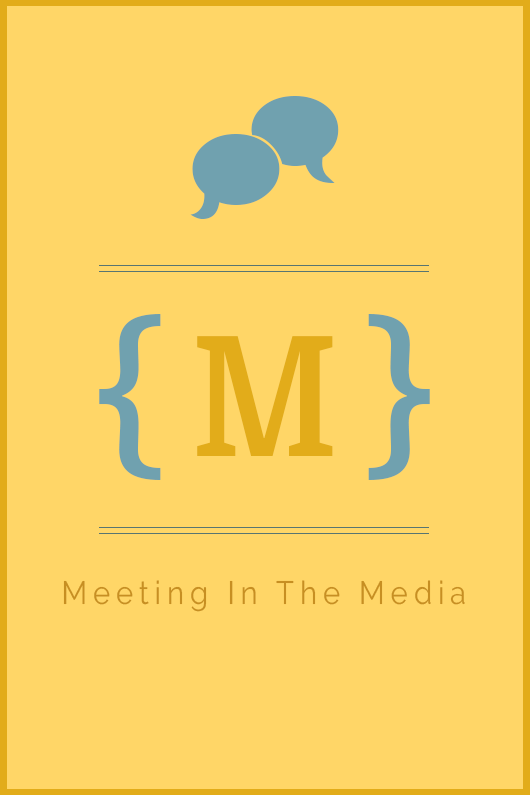 Meeting In The Media, Contact Page Banner