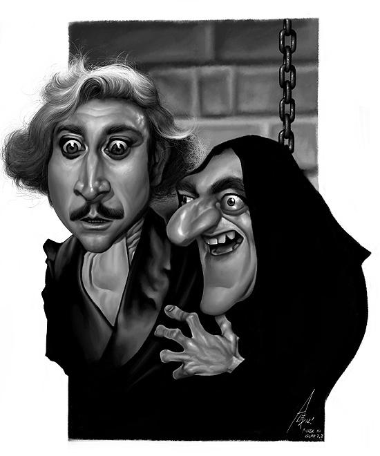 Alex Gallego,  TV and Movie Caricatures