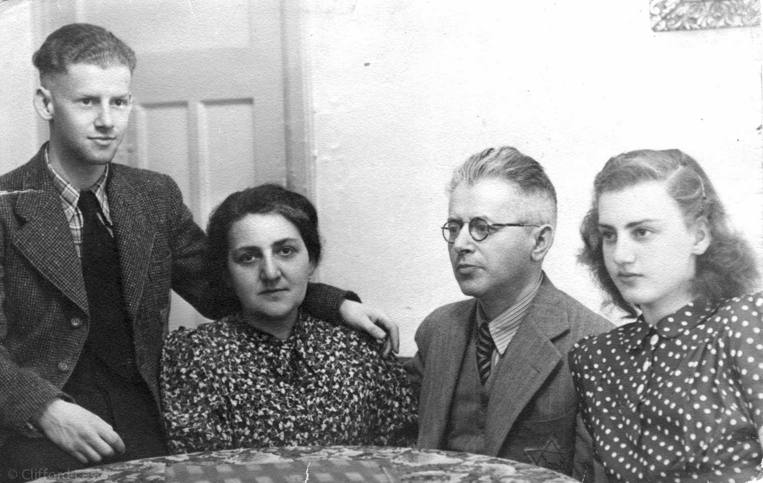 Last day the Lowenbach was together before Ernest had to report to the Gestapo.