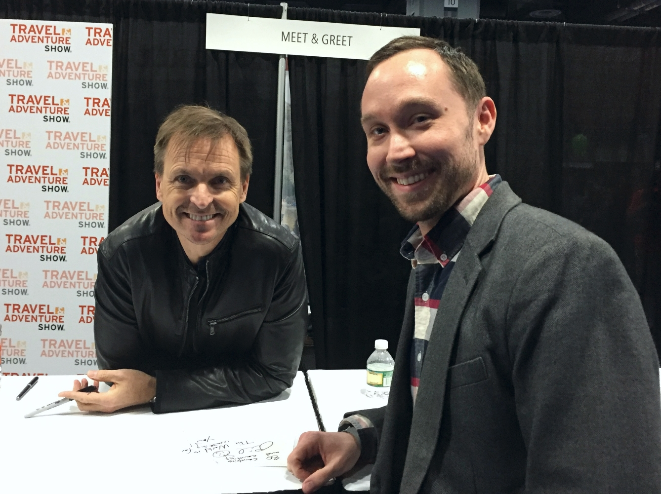 Albert with Phil Keoghan