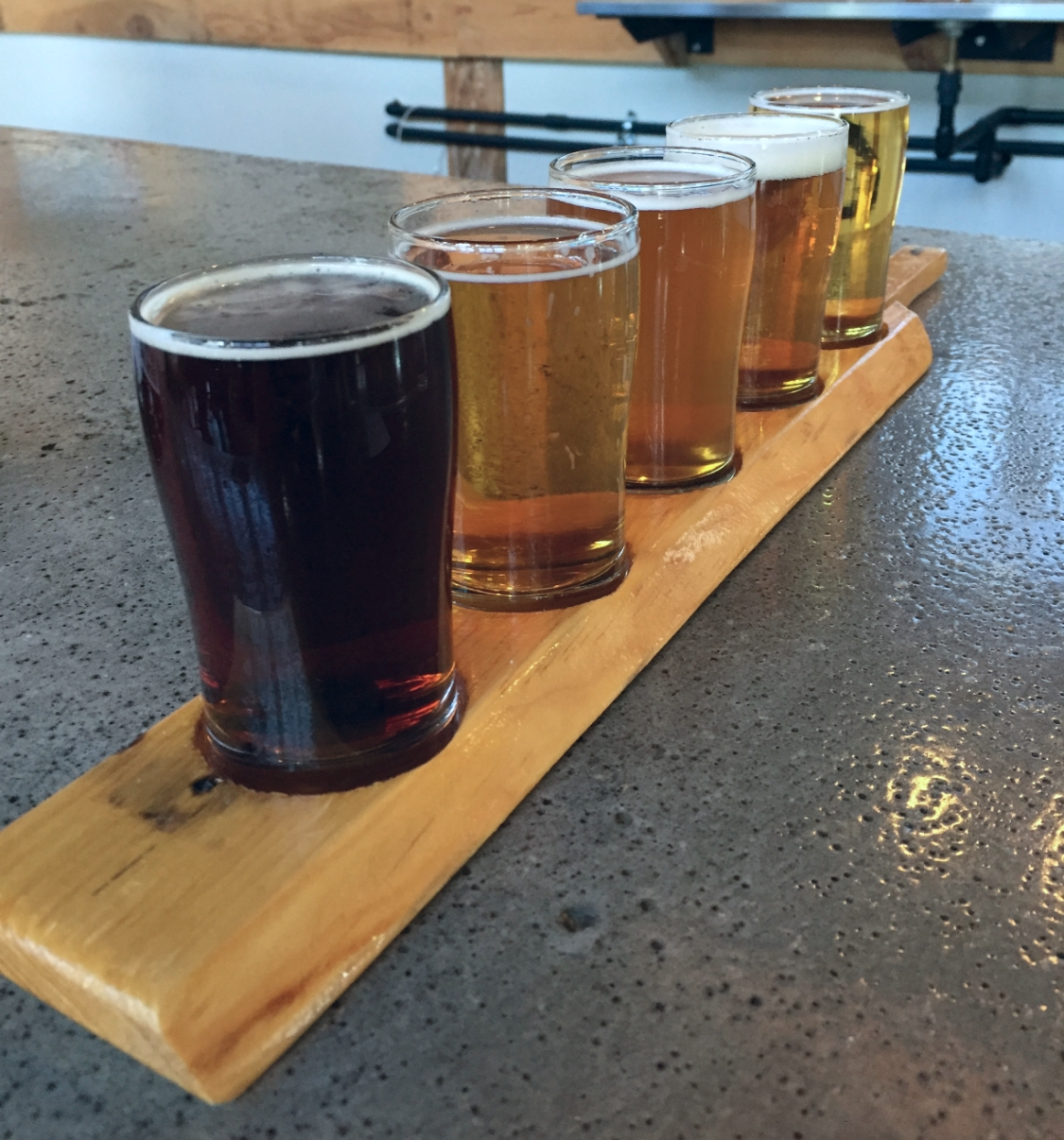 Flight at Chattanooga Brewing Company