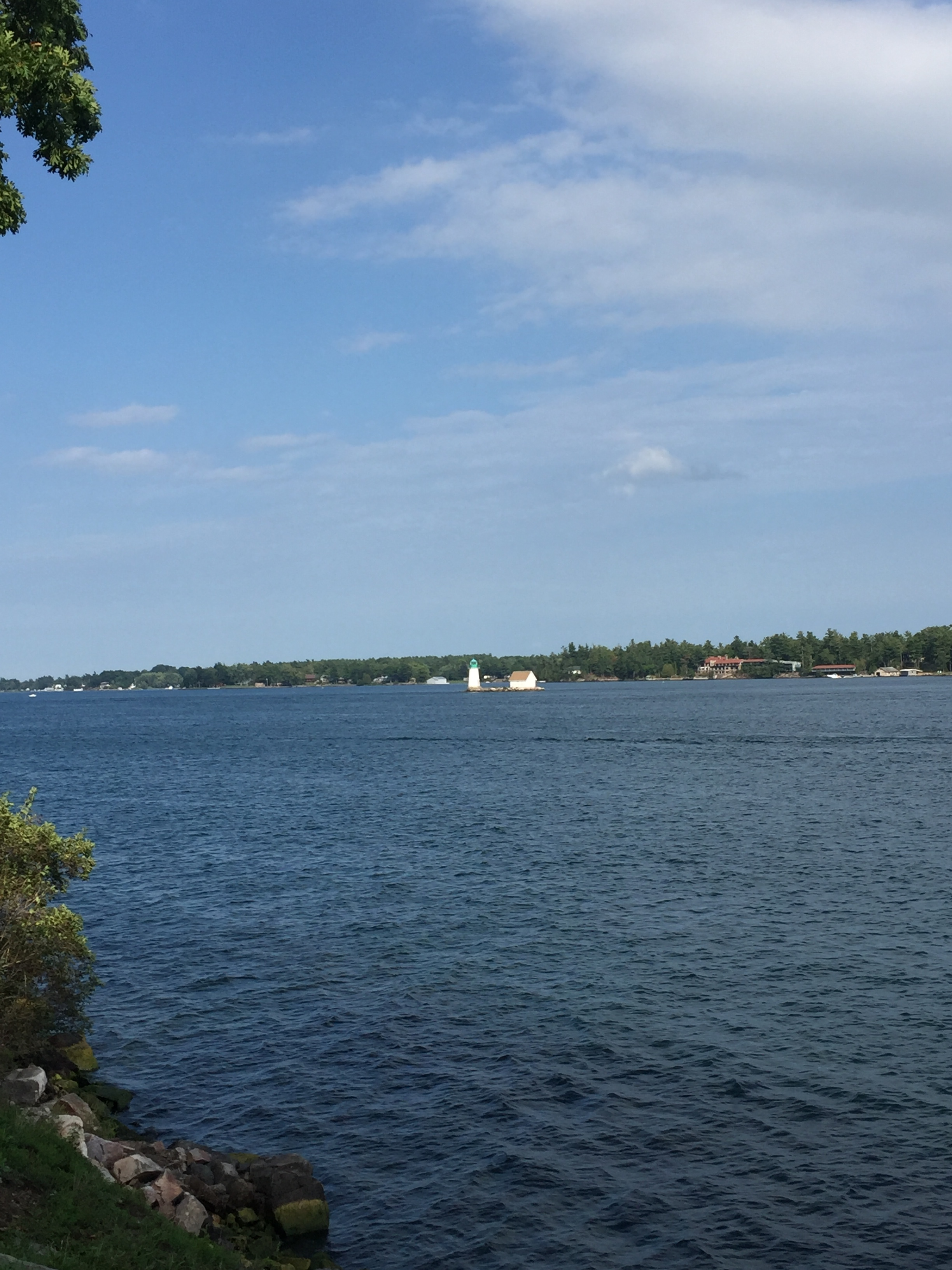 Lighthouse on the St. Lawrence River