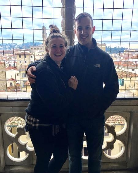 Meagan and Ben in Florence, Italy