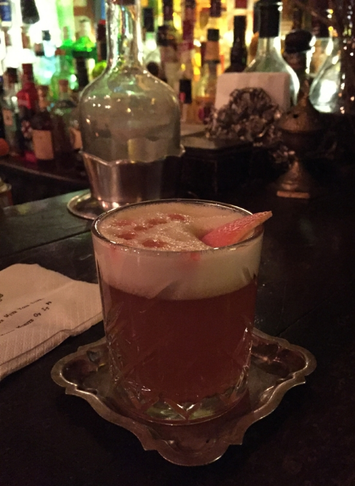 Bartender's take on the Whiskey Sour