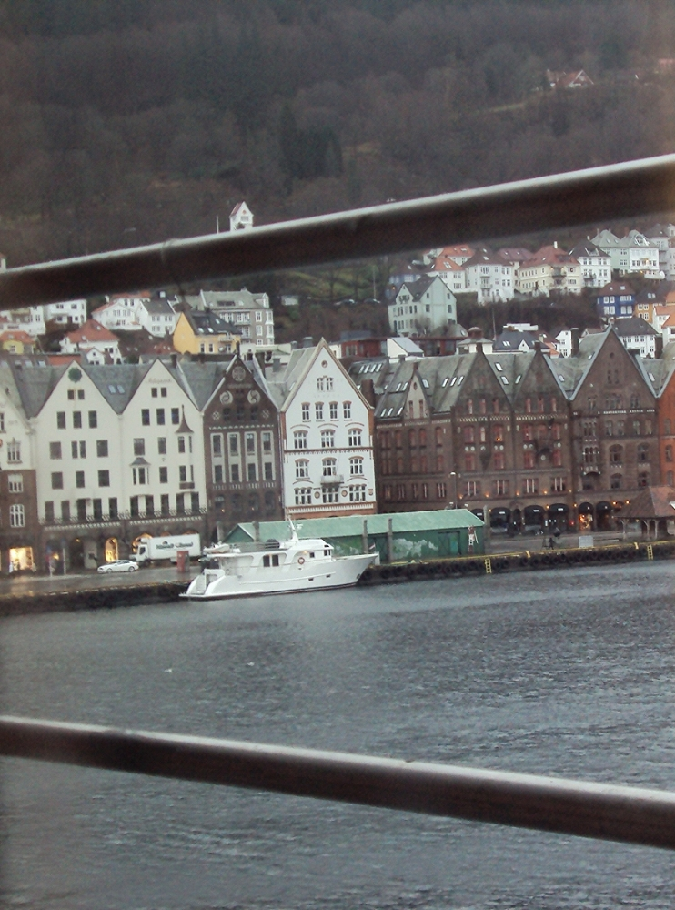 The Bryggen from our hotel room