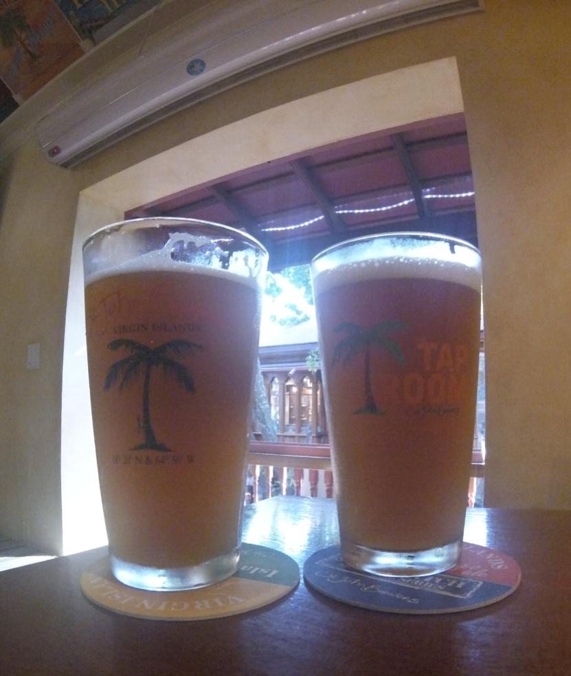 Pints at St. John Brewers