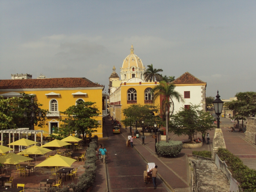 escape the winter and fly to Cartagena, Colombia