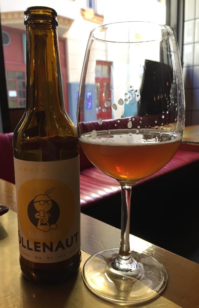 Estonian craft beer at Frank Bar