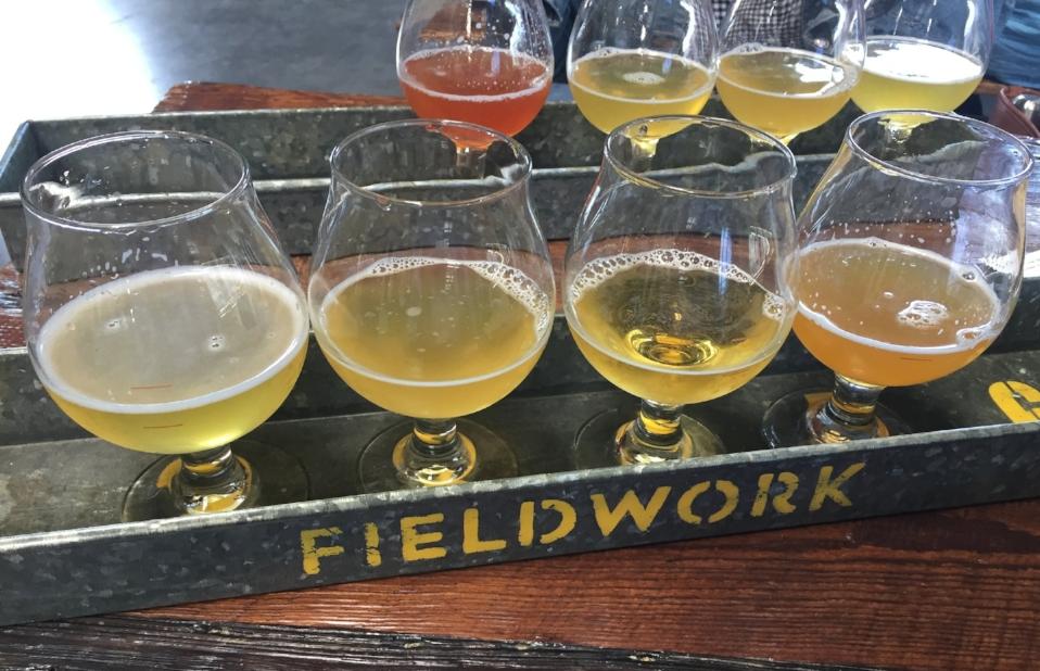 Flights at Fieldwork Brewing Company
