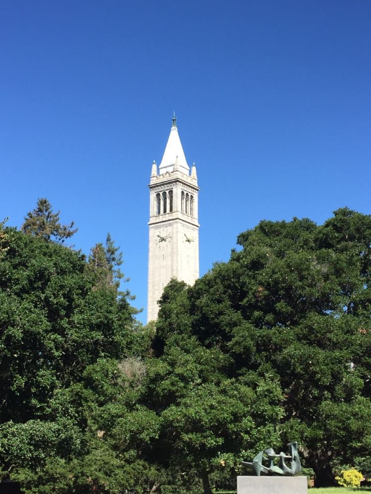 Sather Tower on the UC Berkeley campus