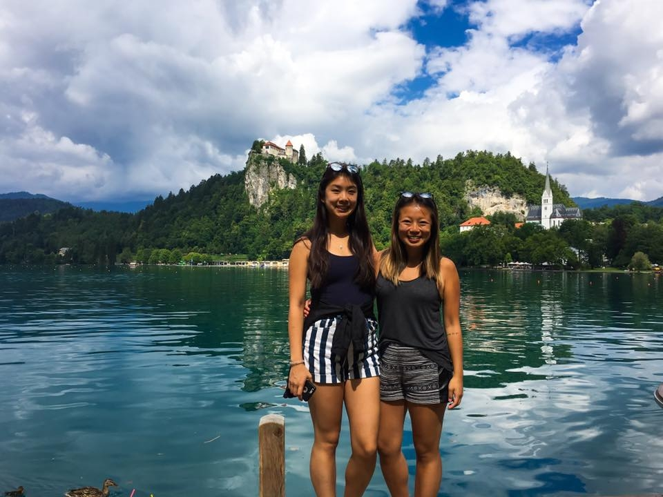 Hope and Diana in Slovenia
