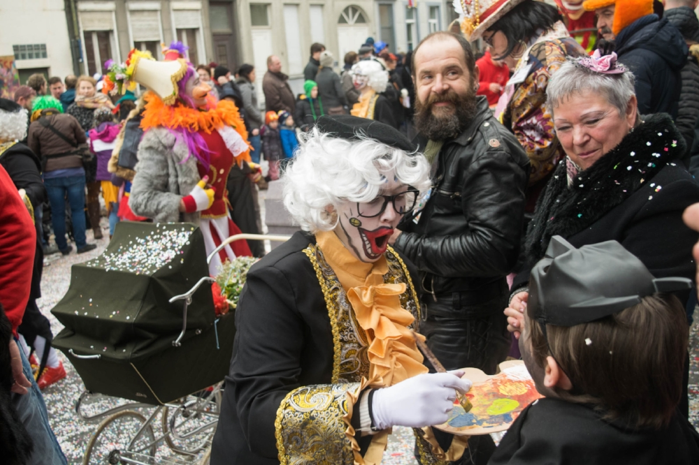 Carnival celebrations of Aalst