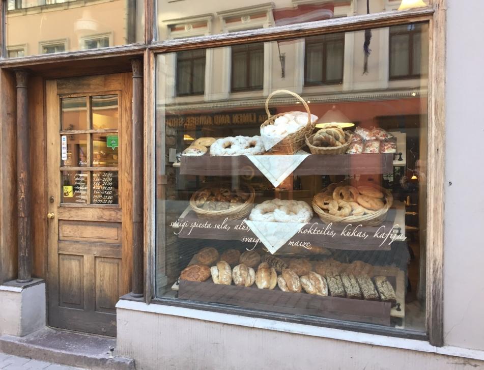 Bakery in Riga, Latvia