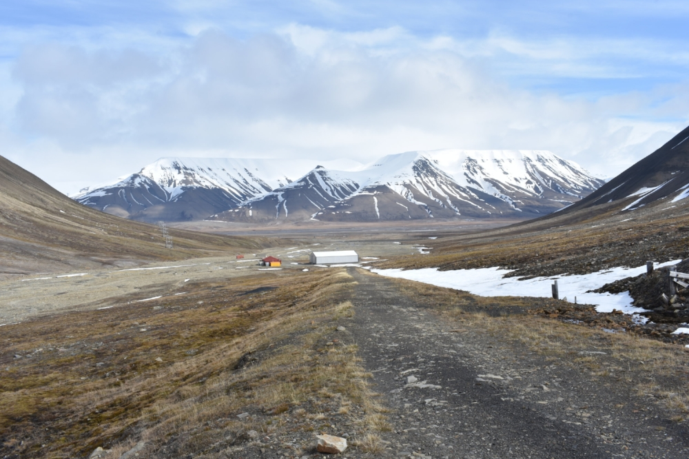 The stunning landscape of the high Arctic Circle as seen from our bike ride with FatBike Spitsbergen