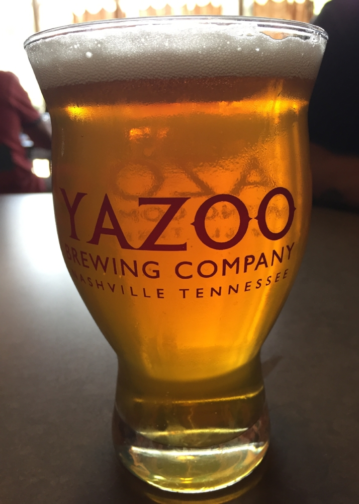 craft beer at yazoo in nashville